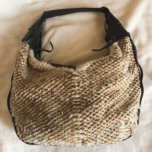Vintage Salvatore Ferragamo Sherpa Hobo bag